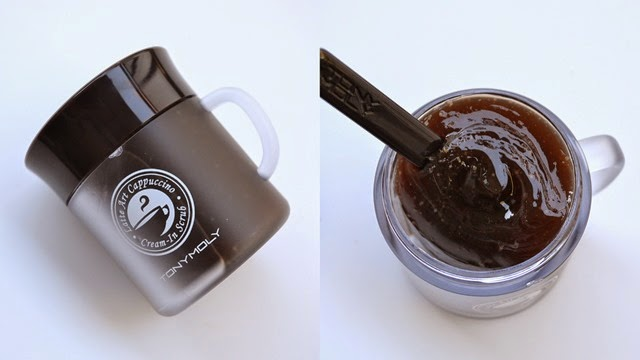 Tonymoly Latte Art Cappucino Cream-In Scrub