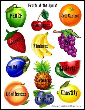 Forever Tree Holy Spirit Fruits Of