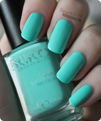 "kiko 389 ""mint milk"""
