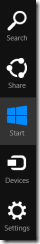 Windows Charms Bar