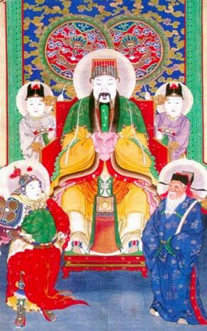 Yu-Huang, emperador de jade