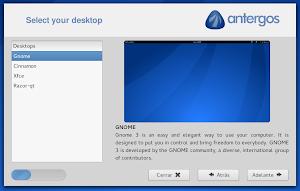 Cnchi installer di Antergos