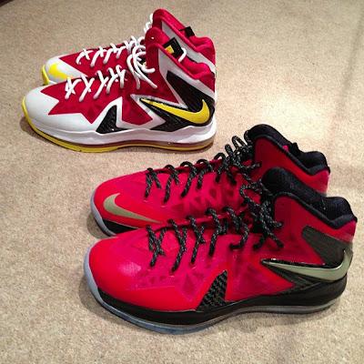 nike lebron 10 id production mvp pack 1 01 Nike iD // LeBron X P.S. Elite   MVP & Championship Pack