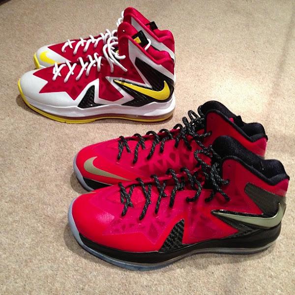 Nike iD  LeBron X PS Elite 8211 MVP amp Championship Pack