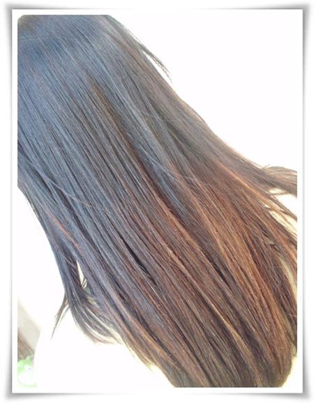 Da pra fazer Ombré no cabelo escuro?