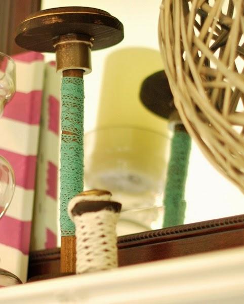 Handmade Bobbins knock off vintage spools