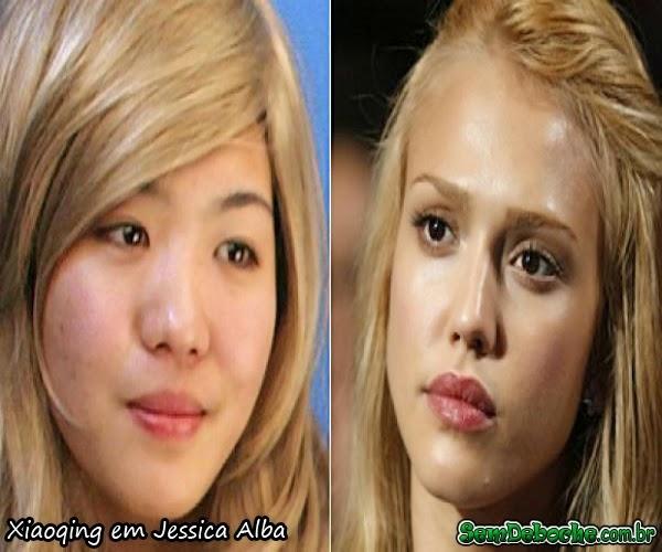 Xiaoqing em Jessica Alba