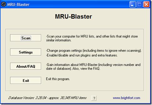 MRU Blaster
