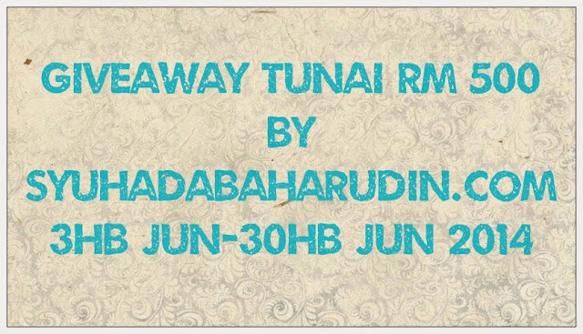 Giveaway tunai