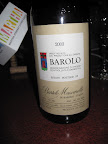 2003 Barolo Mascarello was Jonathan's favorite. Pairs well with veal, pork, or a pure porketta.