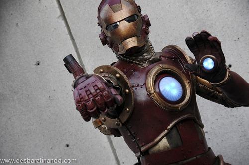 armadura iron man homem de ferro steam punk desbaratinando  (3)