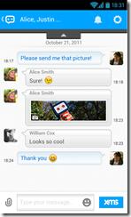 تطبيق Ebuddy لجميع الأنظمة 2014 يدعم إرسال الصور