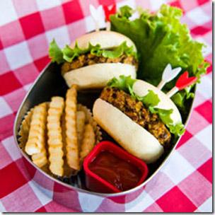 Vegan Gluten-Free Mini Veggie Burgers