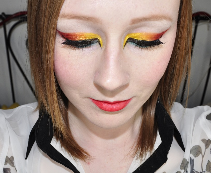 storybook circus makeup look 3