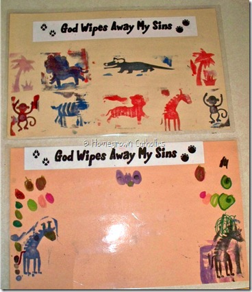 VBS Crafts Samples