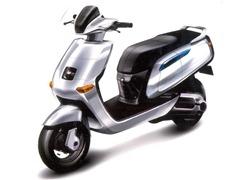 TVS Qube 100 Hybrid Scoote