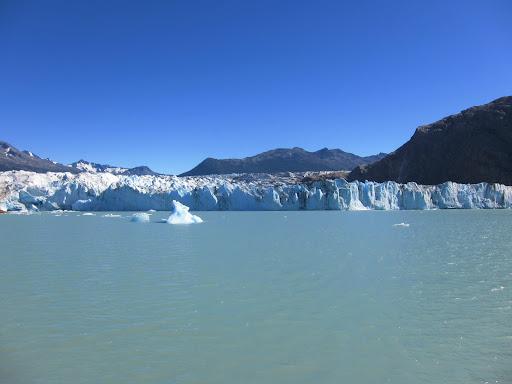 Glacier Viedma near El Chalten.
