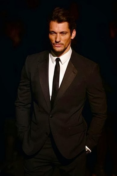 British male model David Gandy