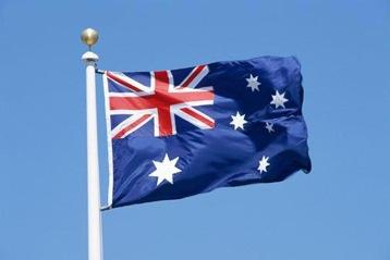 Australian Flag sized