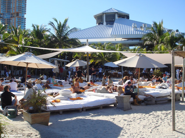 nikki beach in Miami, Florida, United States