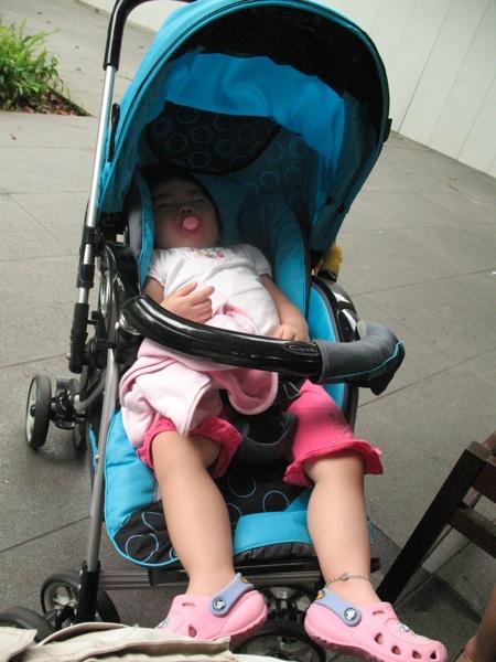 Yining In Her Stroller