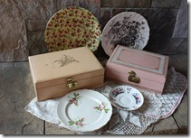 china and jewelry boxes flea with me