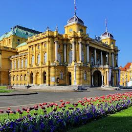 Croatian National Theatre - Zagreb,Croatia by Jerko Čačić - Buildings & Architecture Public & Historical