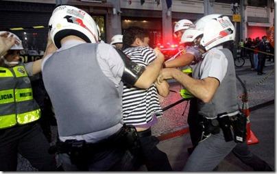 Jornalista detido