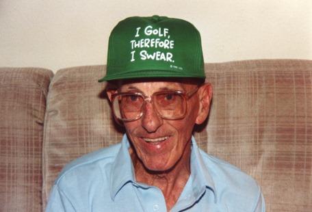 pop golf hat