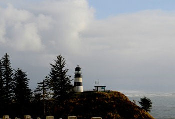 Cape Disappointment Lighthouse c.1856