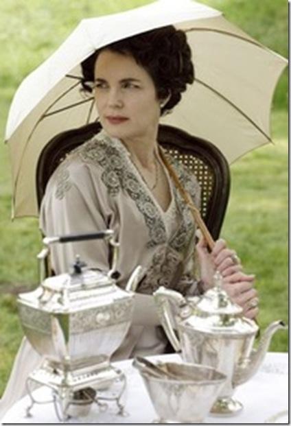 Cora at Tea