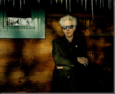 "The multi award winning film director Jim Jarmusch. Currently in post production, his next film 'Limits of Control"" stars Bill Murray, Gael Garcia Bernal, Tilda Swinton and John Hurt. Photographed at Kustendorf 2009 Film and Music festival."