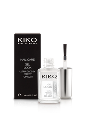 Kiko Gel Look Ultra Glossy Effect Top Coat