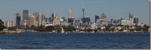 2013-04-25 Sydney skyline