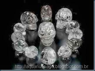 os cranios de cristal
