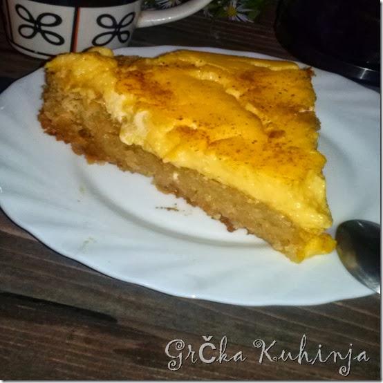 kolač sa grizom, prelivom i kremom 758434
