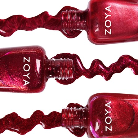 ZOYA NAIL POLISH ruby month SARAH_CARRIE ANN_RUBY cr