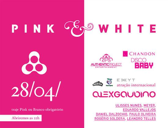 Festa Pink & White na Anzu Club em Itu