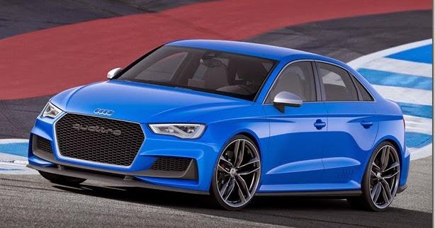 Audi A3 Sedan ganha conceito com 525 cavalos