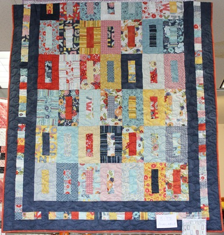 PB&amp;J quilt kit - perfect jelly roll quilt!