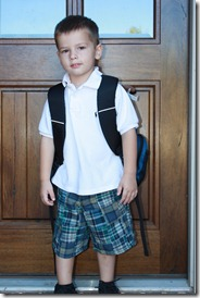 First day of preschool Jack 2011 006