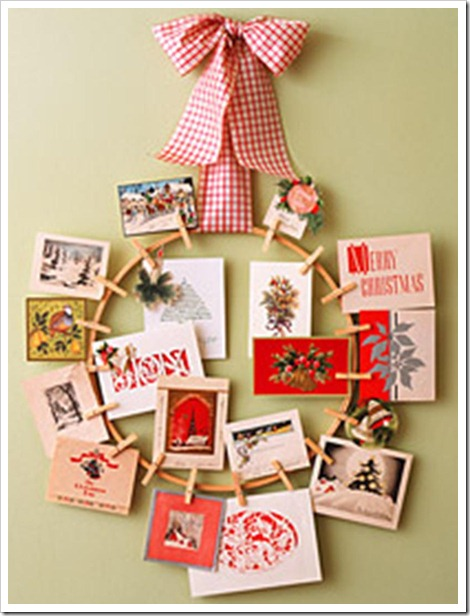 christmas card display 5