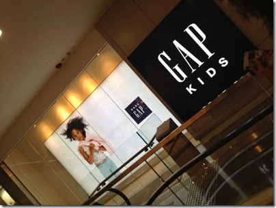 GAP Kids, Hysan Place, Causeway Bay