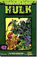 P00042 - Coleccionable Hulk #42 (de 50)