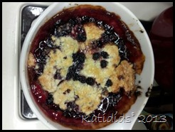 Black Berry cobbler