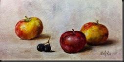 three apples 6x12
