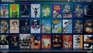 SageTV with Diamond MovieWall UI