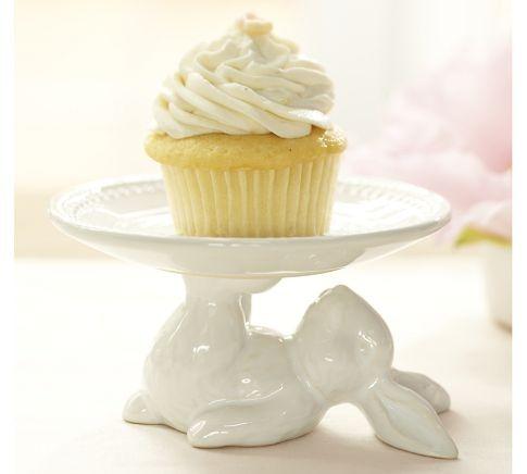 bunny cupcake stand
