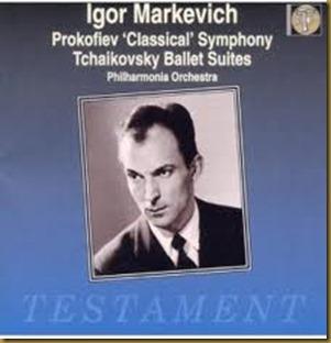 Markevitch Tchaikovsky Prokofiev Testament