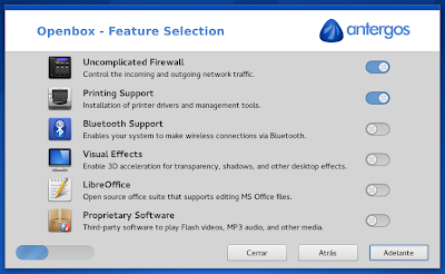 Antergos 2013.11.17 - installer